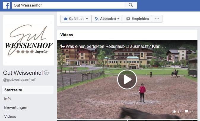 Weissenhof auf facebook
