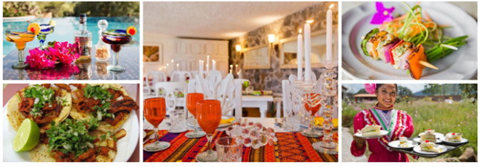 Das Herz jedes mexikanischen Hauses ist die fabelhafte offene Küche.