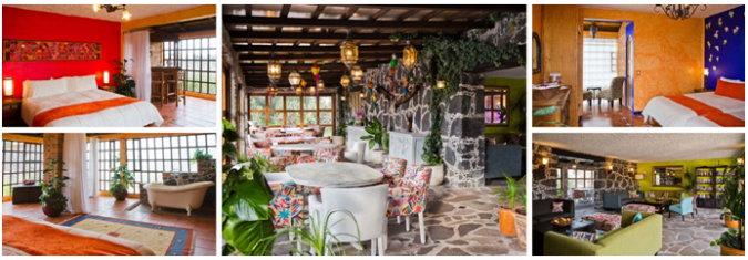 Die Zimmer auf der Ranch verbinden Komfort und Klasse mit einem echten lokalen Gefühl.